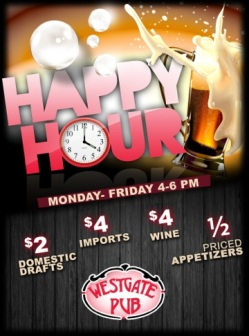 Happy Hour at Westgate Pub